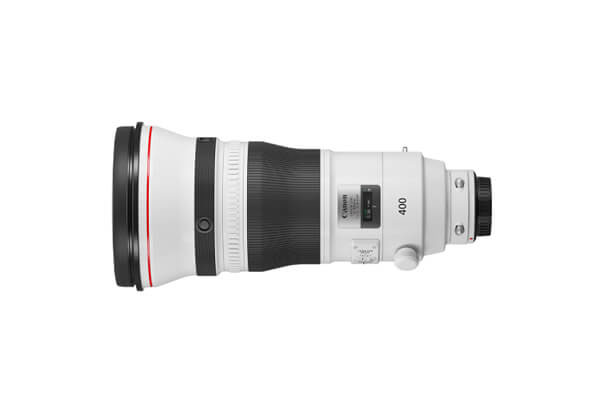 Side view of Canon EF-M 55-200mm f/4.5-6.3 IS STM lens