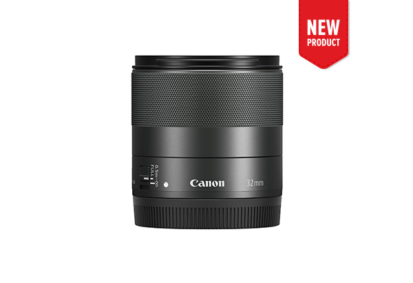 Side view of Canon EF-M 22mm f/2 STM lens