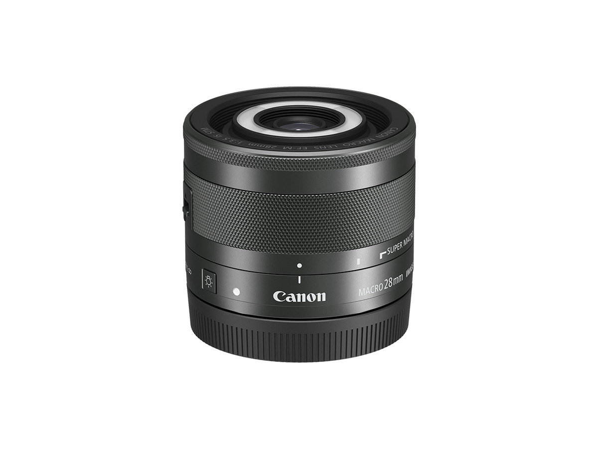 EF-M 28mm f/3.5 Macro IS STM lens