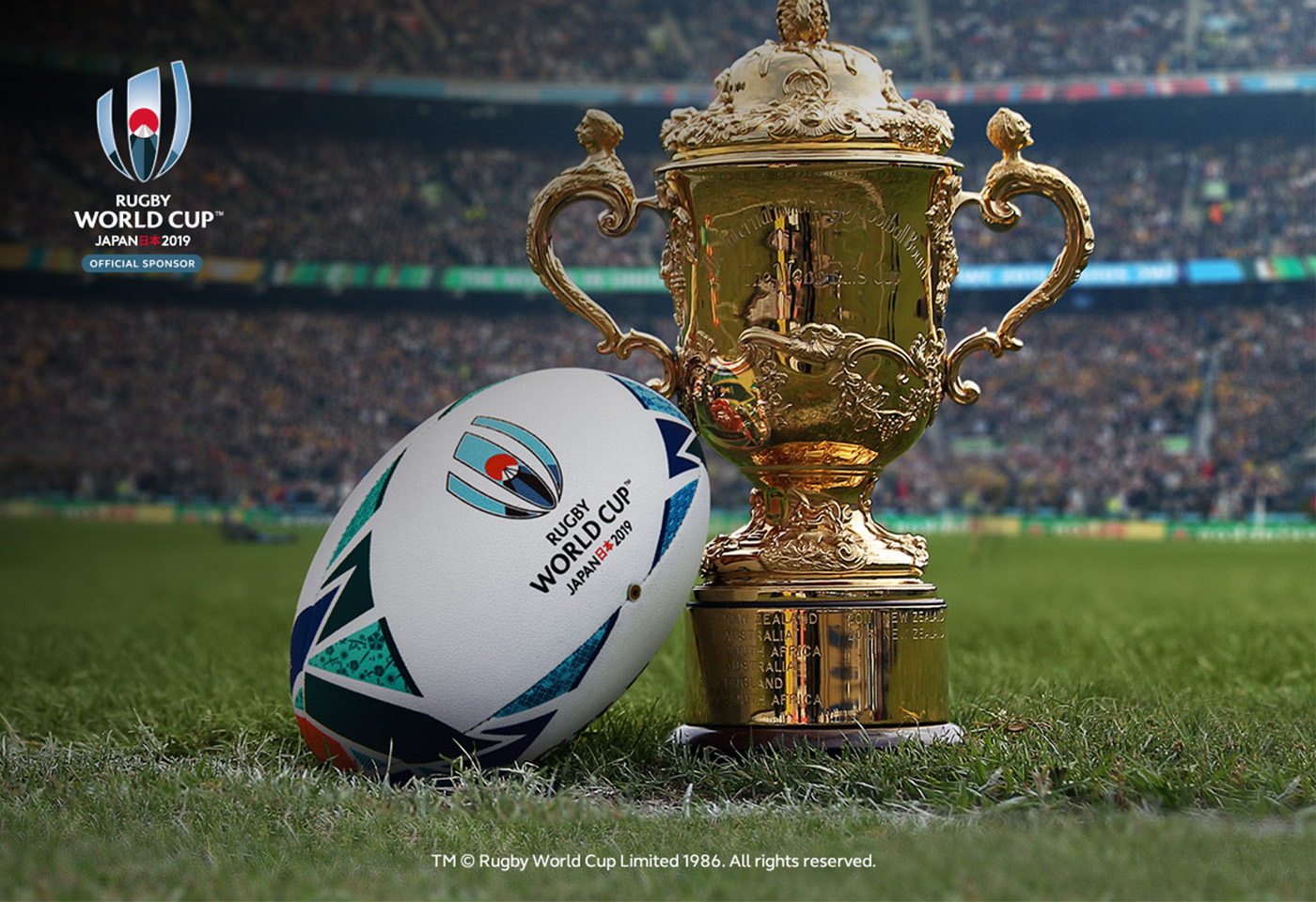 Ball Rolling For Rugby World Cup 2019
