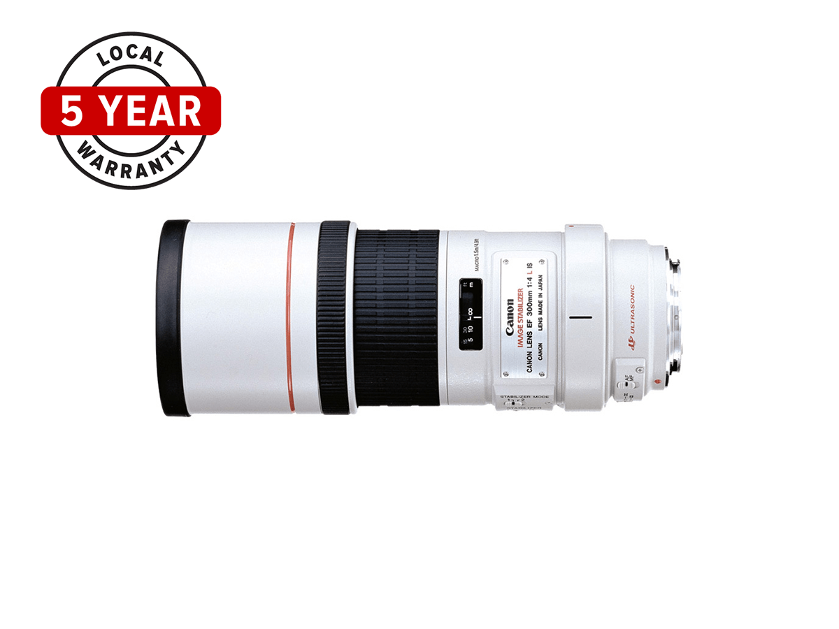 EF 300mm f/4L IS USM lens