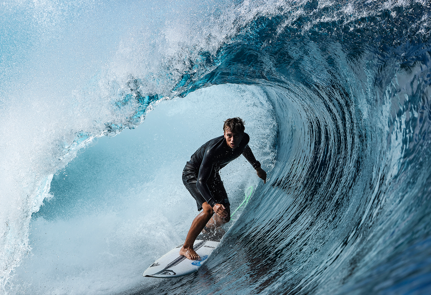 Image of surfing taken with EOS 1D X Mark III