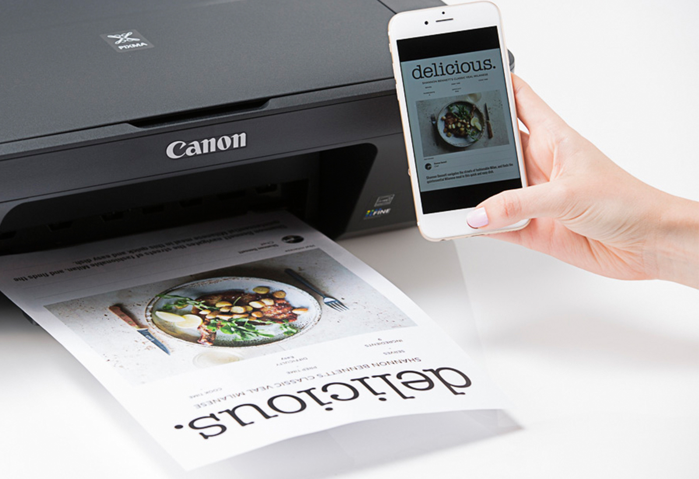 Printing from a smartphone