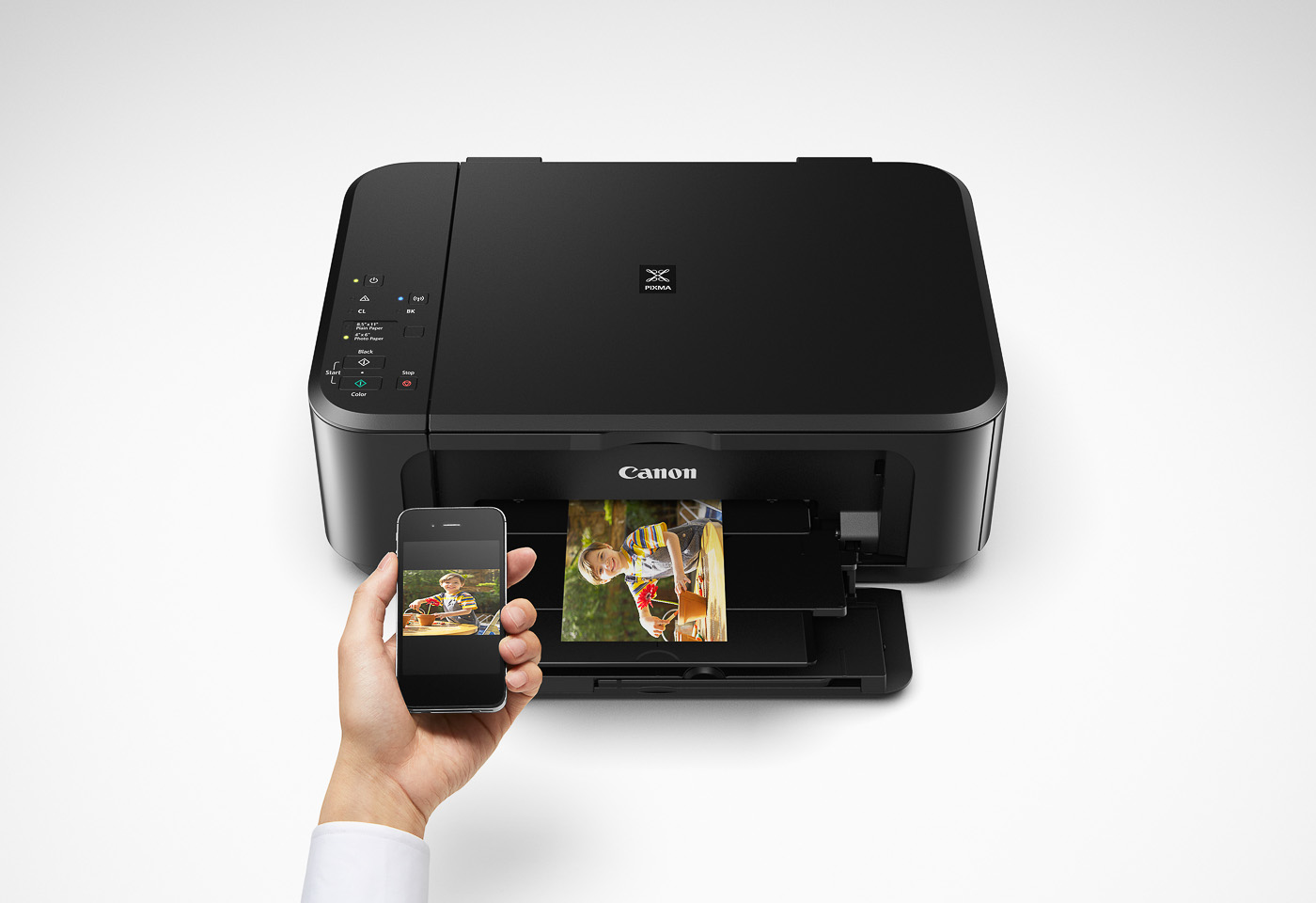 pixma mg3660 printing from a mobile device