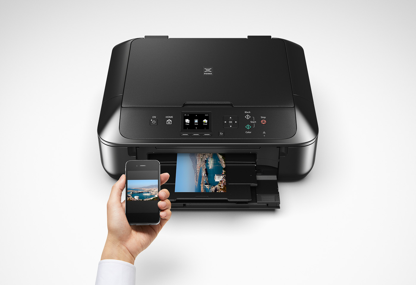 pixma mg5760 printing from a mobile device