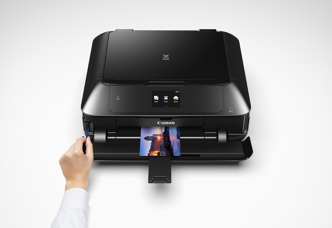 pixma mg7760 printing from an SD card
