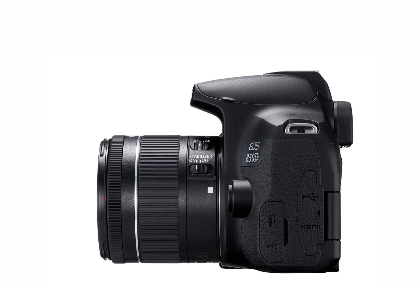 Side profile image of EOS 850D
