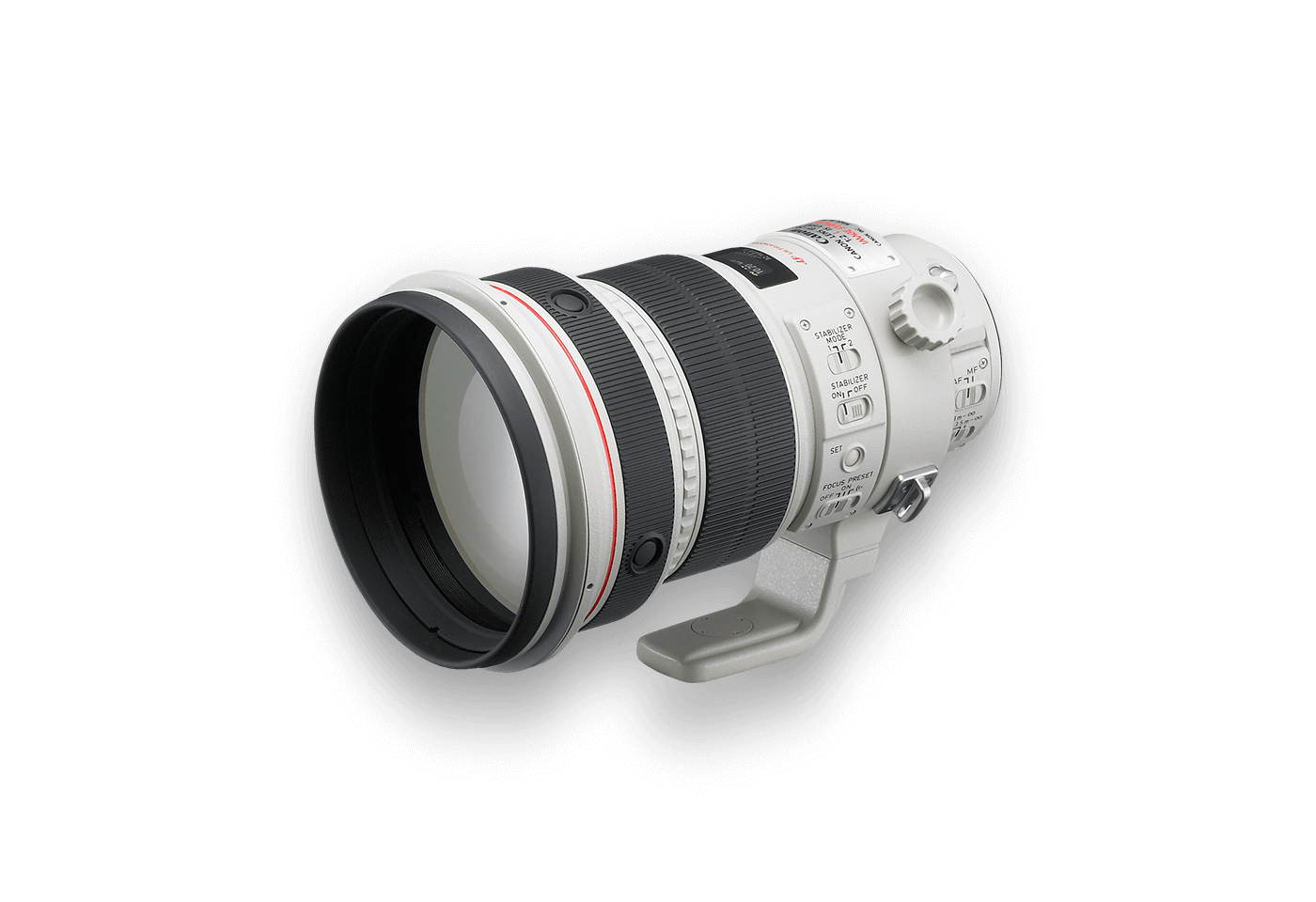 EF 200mm f/2L IS USM lens