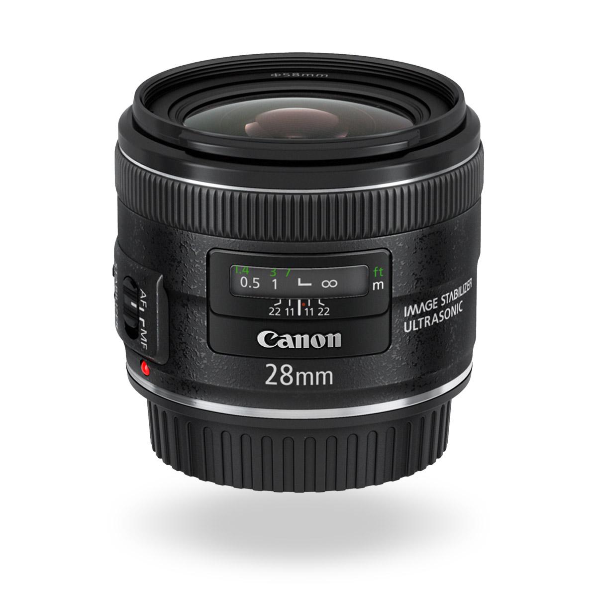 EF 28mm f/2.8 IS USM Lens