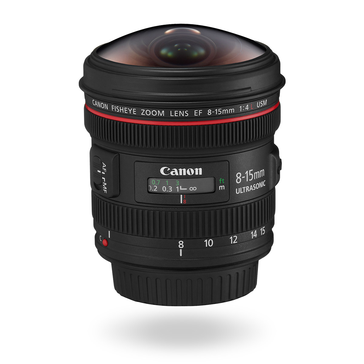 EF 8-15mm f/4L Fisheye USM lens