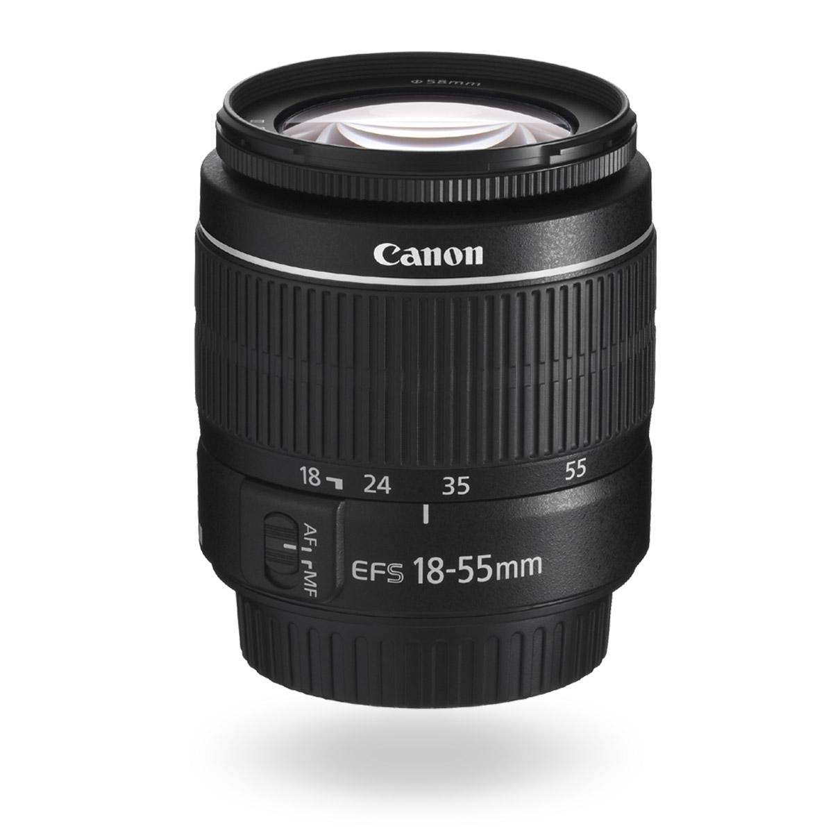 EF-S 18-55mm f/3.5-5.6 III lens