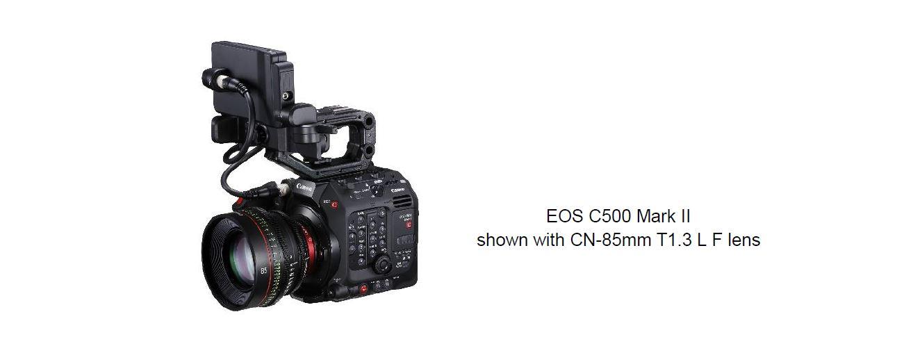 Canon announces EOS C500 Mark II digital cinema camera