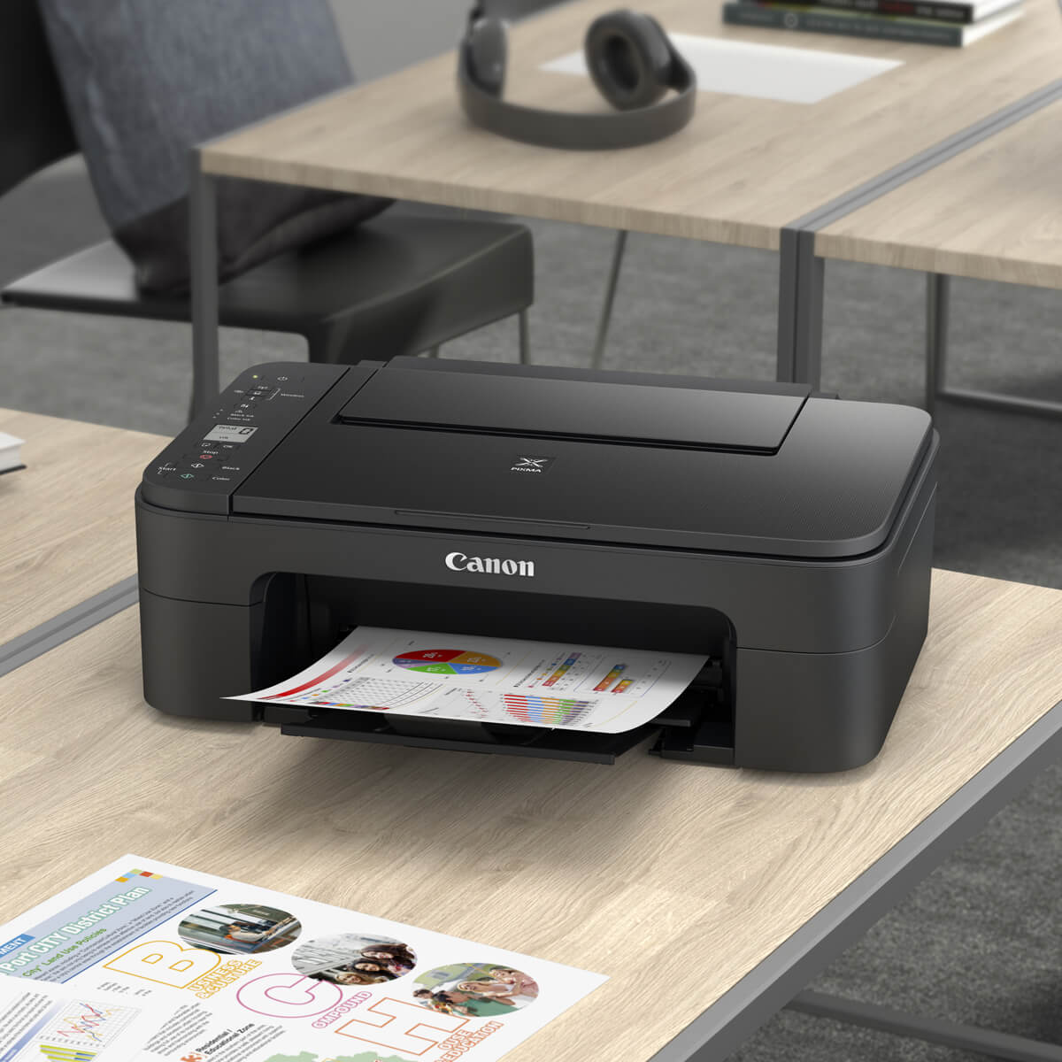 Using Genuine Canon inks helps to guard your Canon Printer against damage