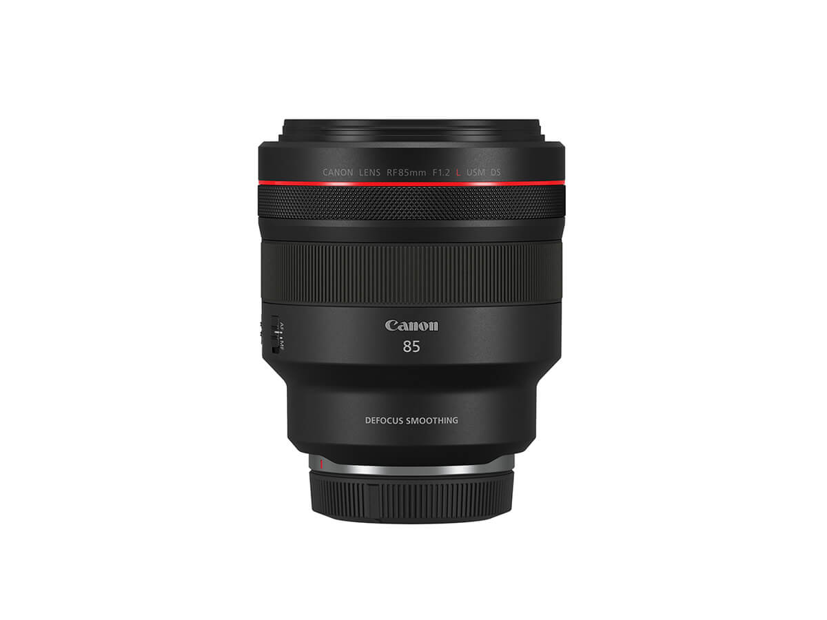 Product image of RF 85mm f/1.2L USM DS prime lens