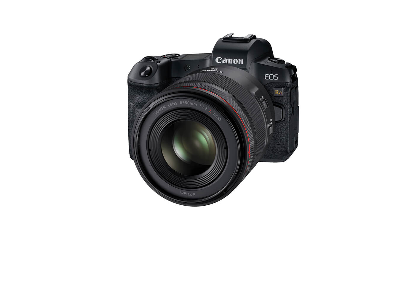 Product image of EOS Ra with prime lens