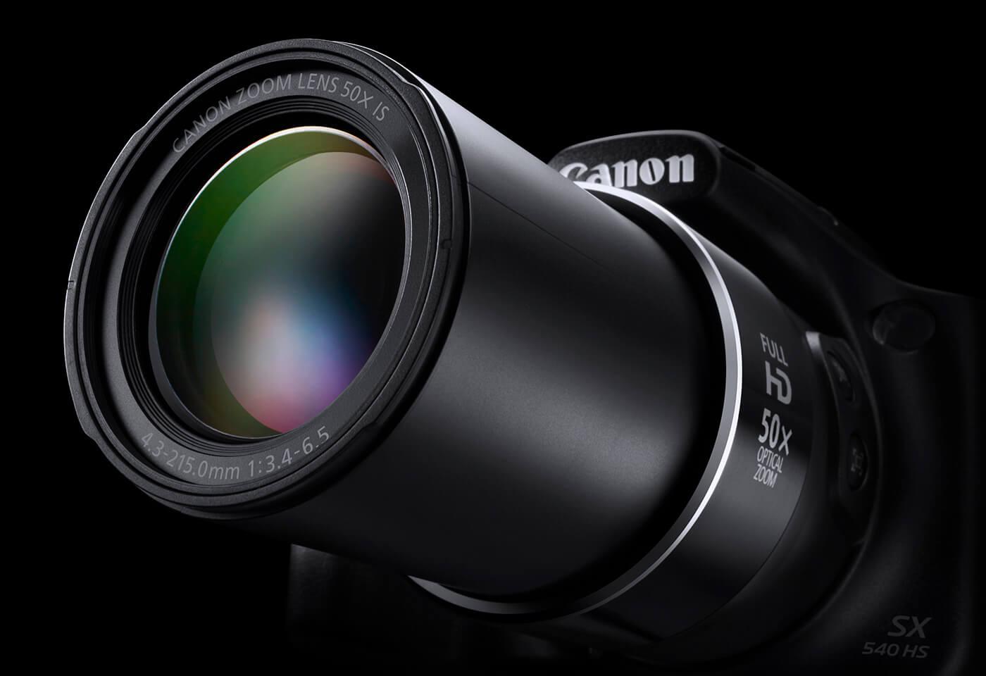 Powershot SX540 HS 50x zoom lens