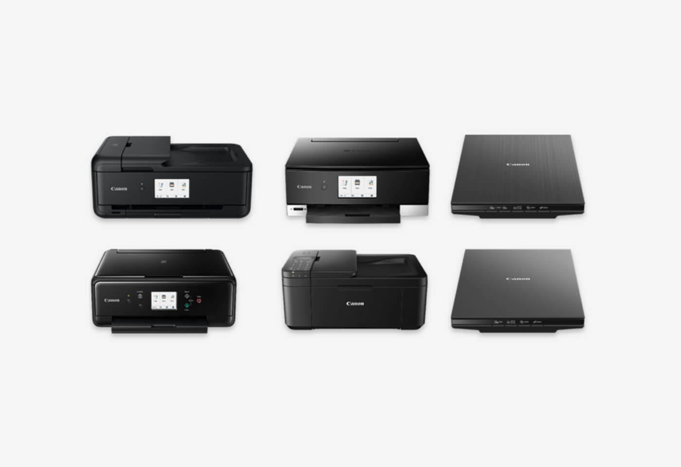 Canon's new PIXMA printer and CanoScan range