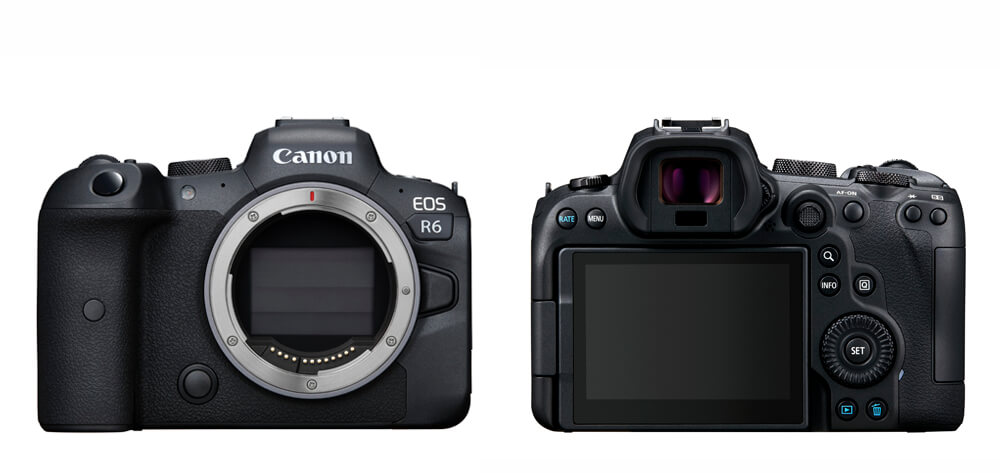 Front and Back image of EOS R6