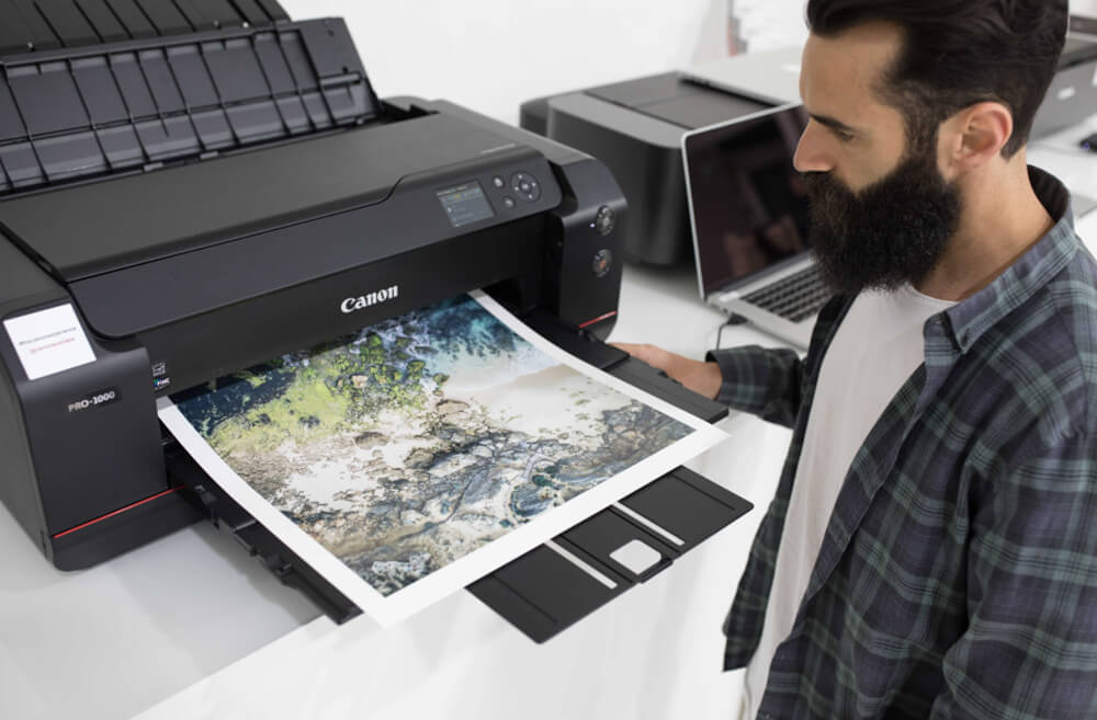 Image of the imagePROGRAF PRO-1000 printer