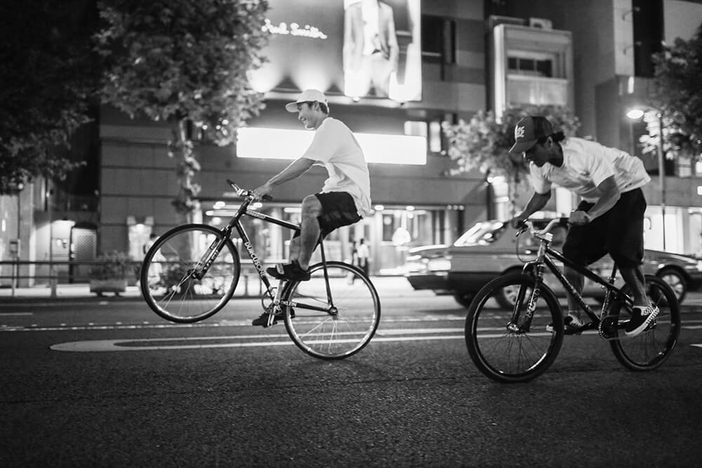 Photo of bicycling by Maria Boyadgis