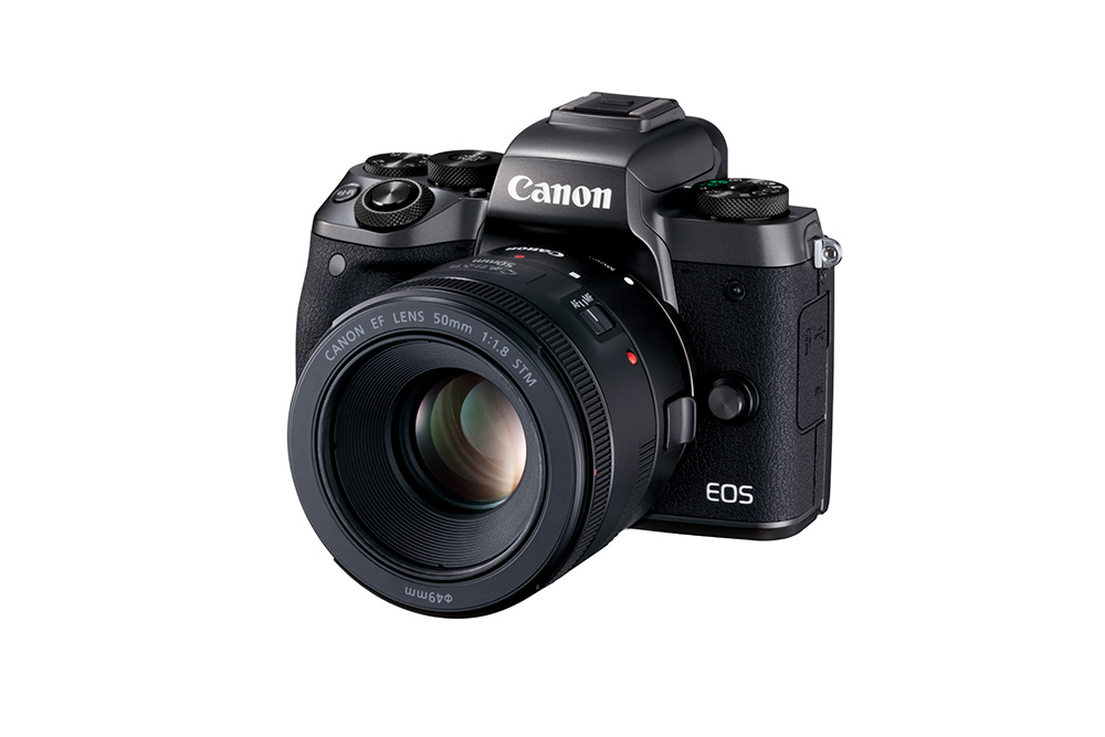 Canon EOS front on angle image