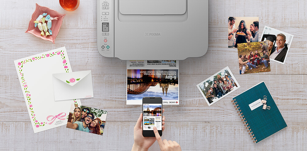 Photo printing with Canon PIXMA HOME TS3465 printer