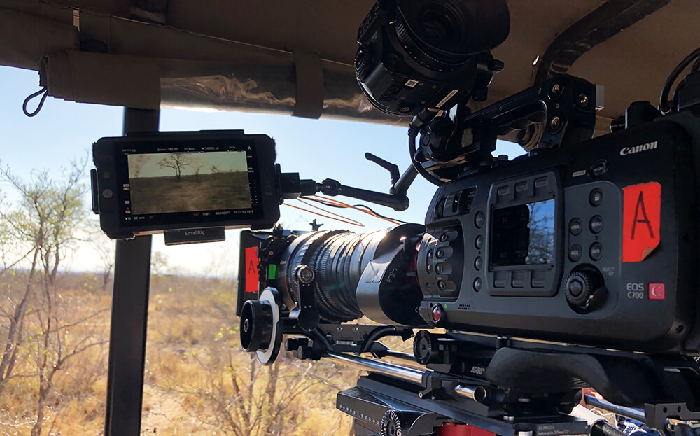 EOS C700 used to film Nat Geo's Save This Rhino documentary