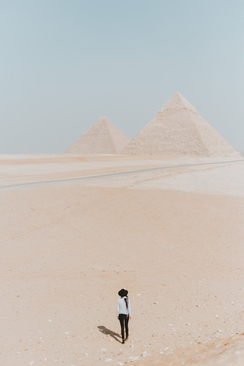 The Giza Pyramid Complex. Image by Jona Grey