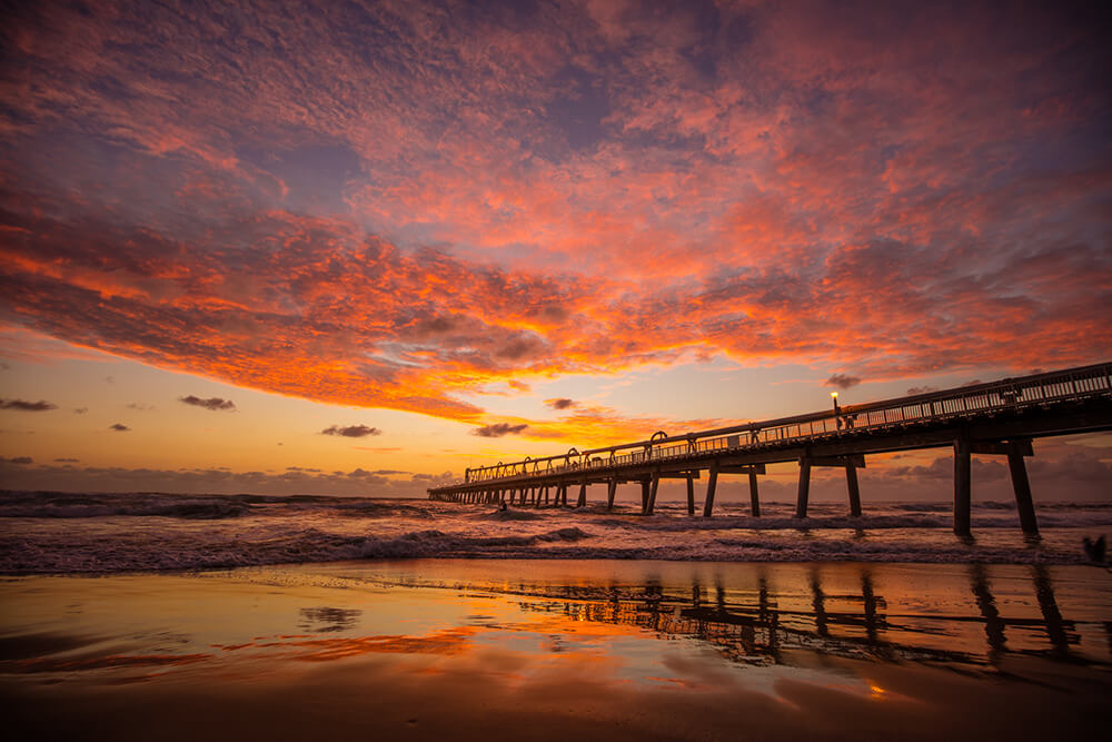 Queensland Gold Coast beach