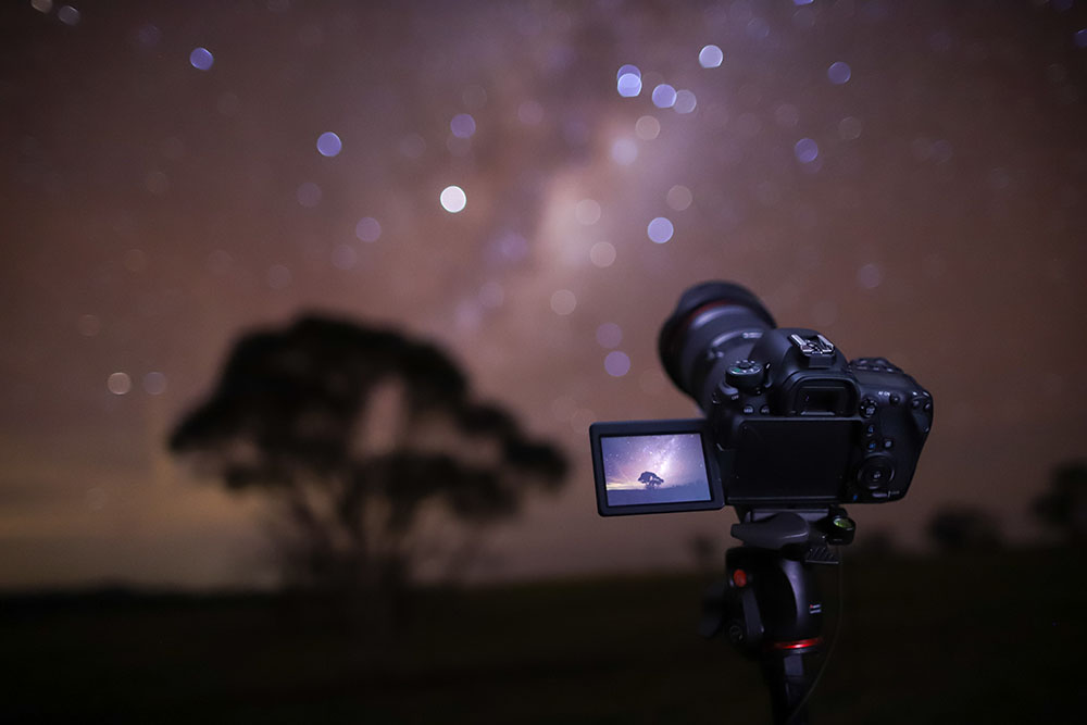 Behind the scenes of Matthew Vandeputte astro time-lapse video