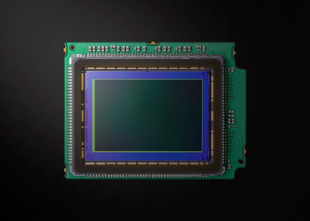 image of the CMOS sensor