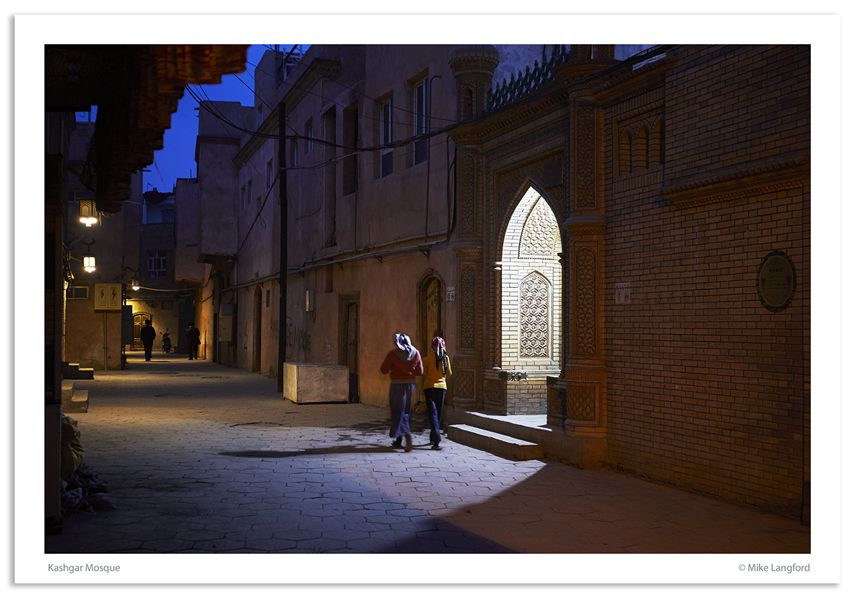 Kashgar Mosque photographed by Mike Langford