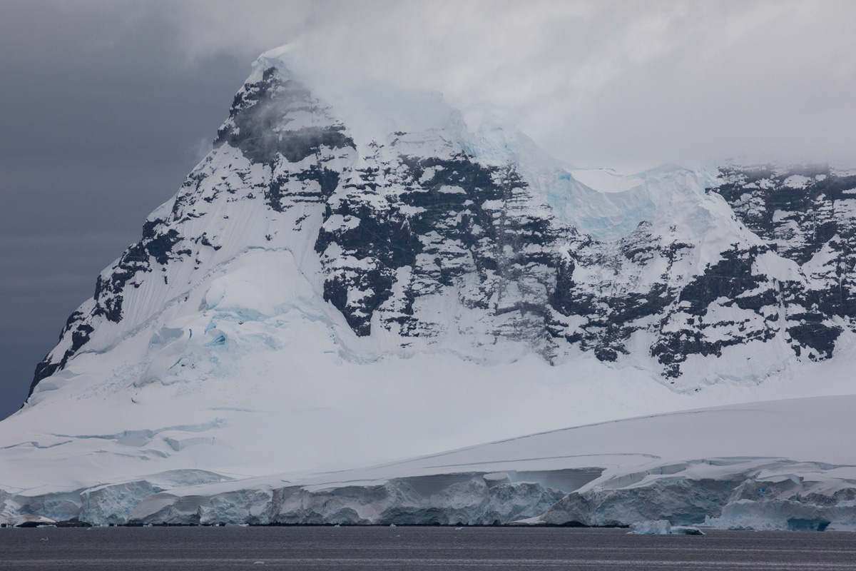 William Pike Antartica Mountains